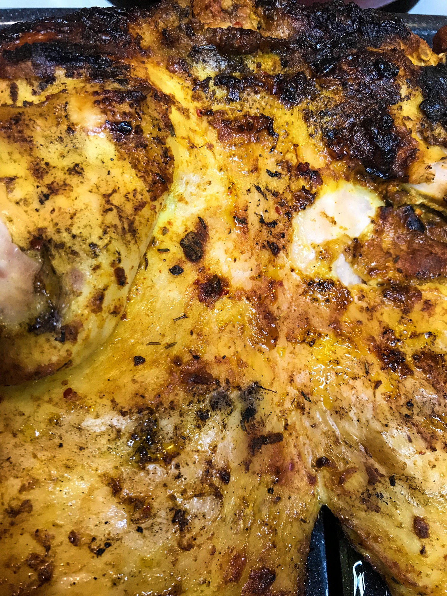 Applewood smoked chicken