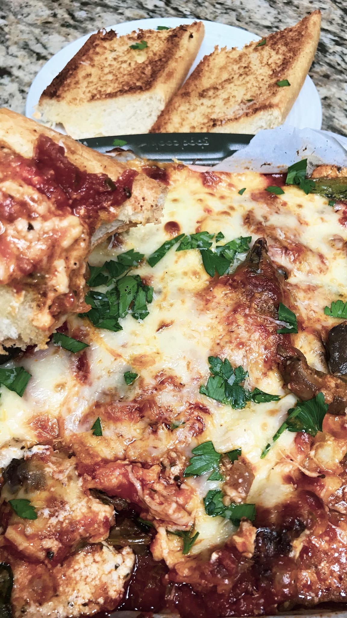 Chicken Parmigiana dip