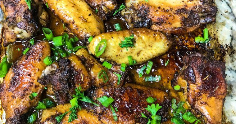 Sugar & Spice Wings