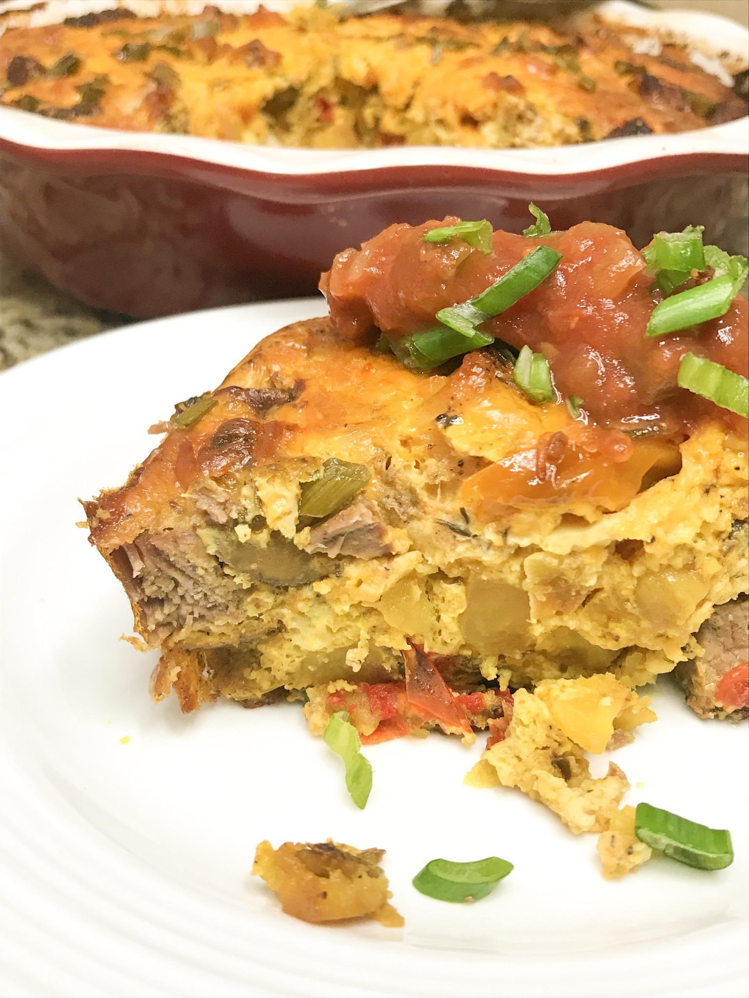 Steak & Potato Frittata