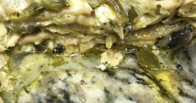 Chicken Philly Lasagna