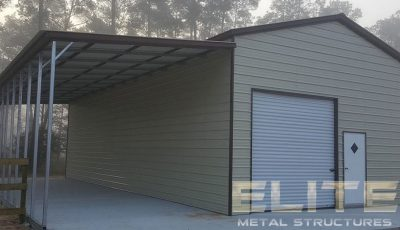 28x36-Metal-Garage-Building-With-Lean-To