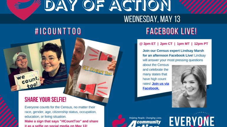 Celebrate a Census Day of Action with the Community Action network!