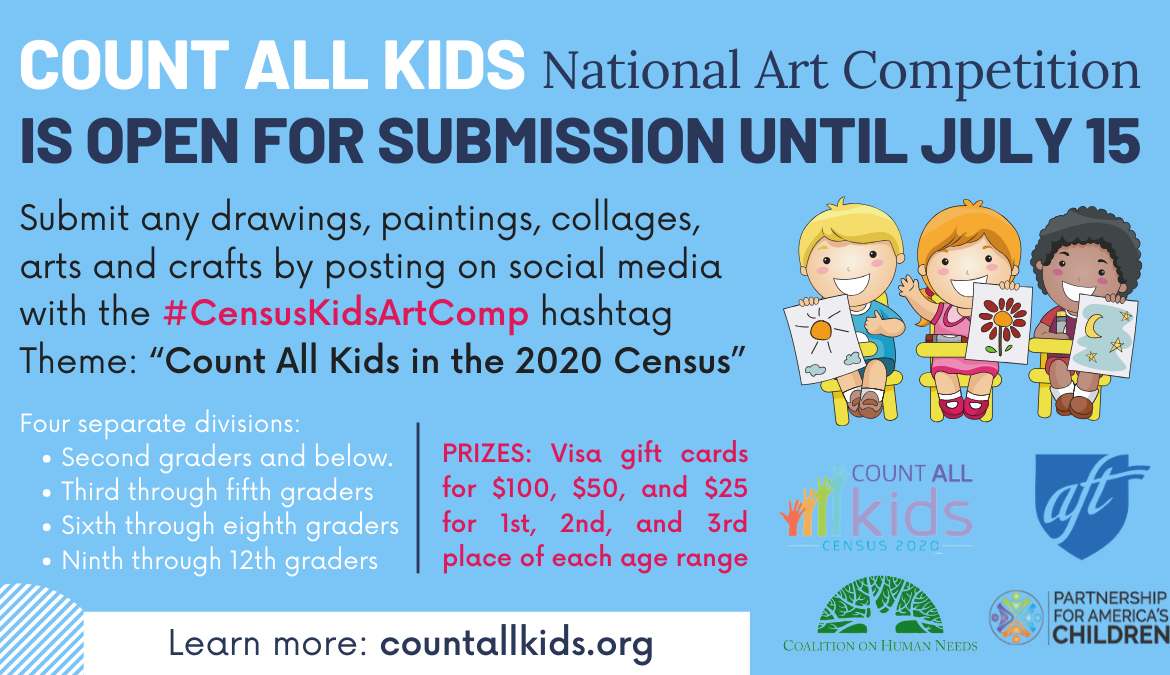 Count All Kids National Art Competition Launch