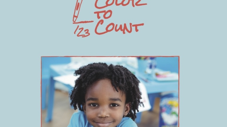 Color to Count Coloring Book Launch