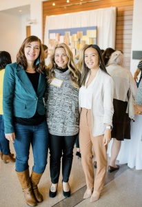Alisha Browne, Jenna Curry and Jessica Pham at the Rise and Shine Conference 2019
