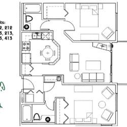 Signature Club Suites Floor Plans