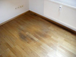 Water Damaged Wood Floor Repair North Chicago, Illinois