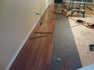 Hardwood Floor Install North Chicago, Illinois