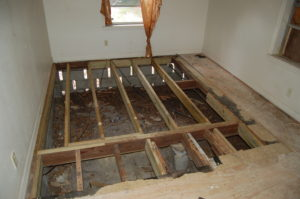 Subfloor Repair Loves Park, Illinois