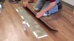 Vinyl Plank Floor Repair North Chicago, Illinois
