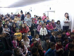 Kurdish church children's meetin
