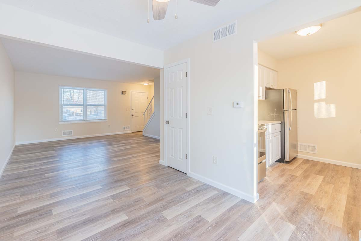 Townhome Living Room/Kitchen