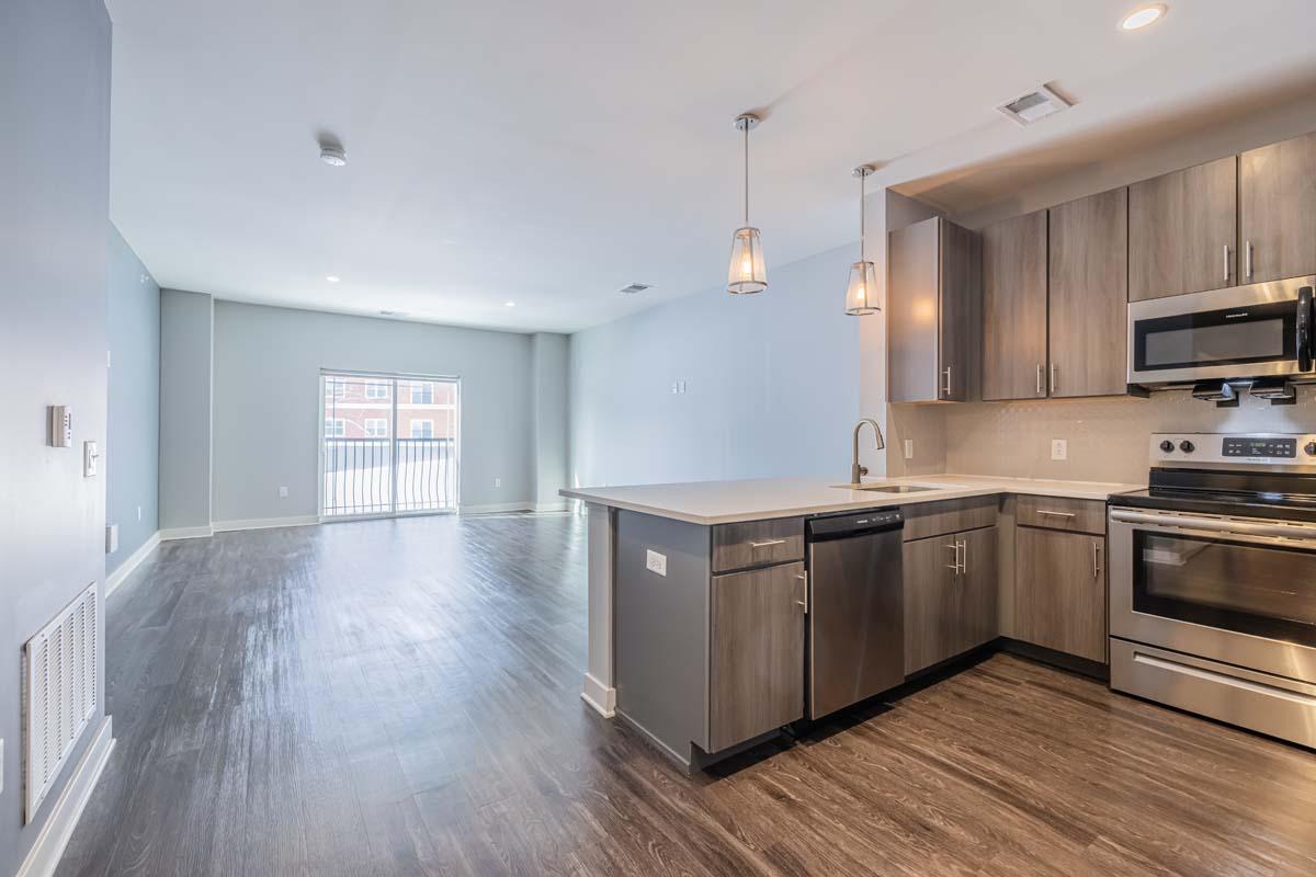 Ellison Heights - 1 Bedroom - Kitchen/Living Area