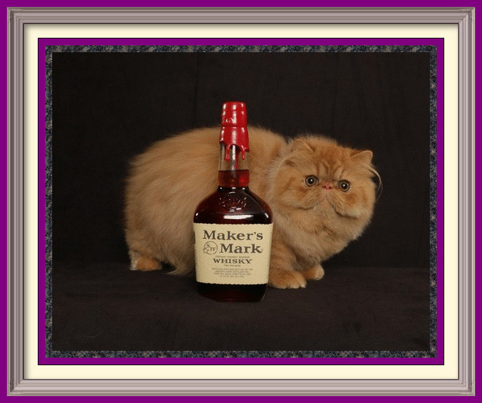 Makers Mark-framed