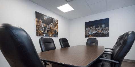 Law office conference room - Zhivov Law