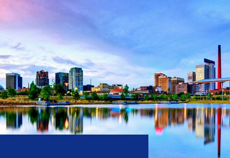 Birmingham, AL Location