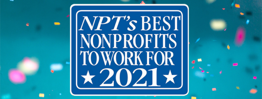 NPT best nonprofit to work for 2021