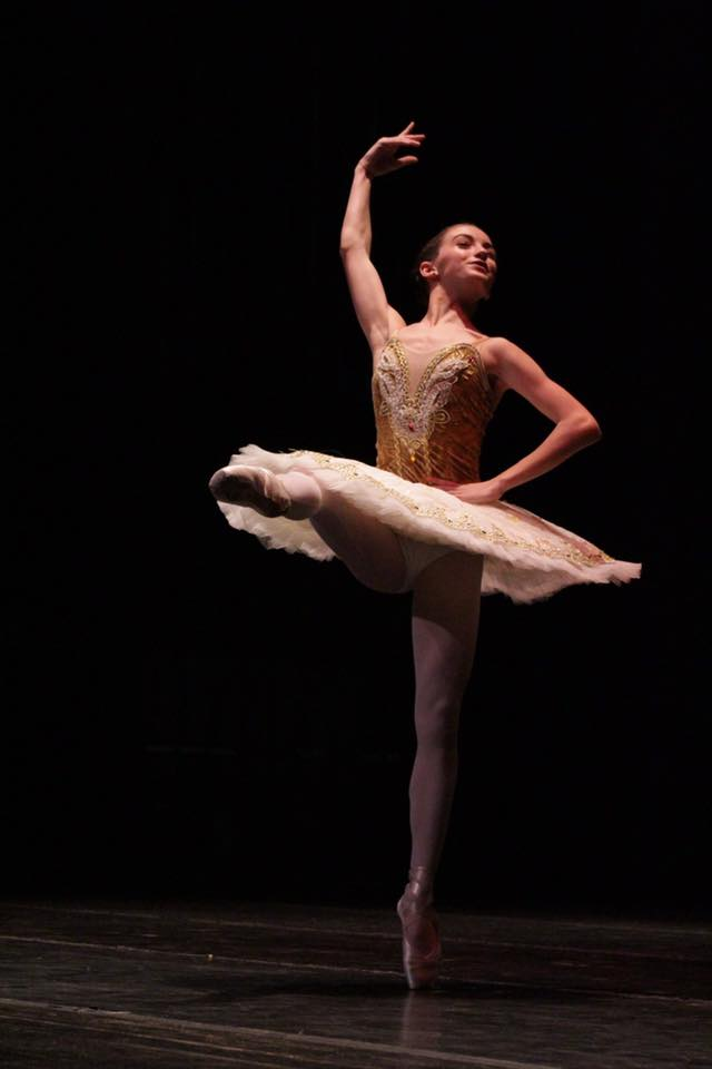 Mikell performing the Paquita variation