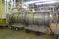 HORIZONTAL STAINLESS STEEL BATCH FREEZE DRYER (FOOD PROCESSING)