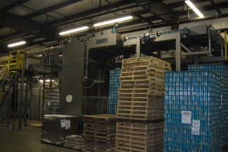 AUTOMATIC PALLETIZER (PACKAGING)