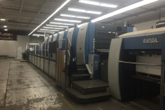 6 COLOR WIDE FORMAT OFFSET SHEETFED PRINTING PRESS (PRINTING)