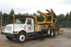TRUCK WITH TREE SPADE (ROLLING STOCK)