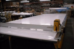CLOTH LAYOUT AND CUTTING TABLE (TEXTILES)