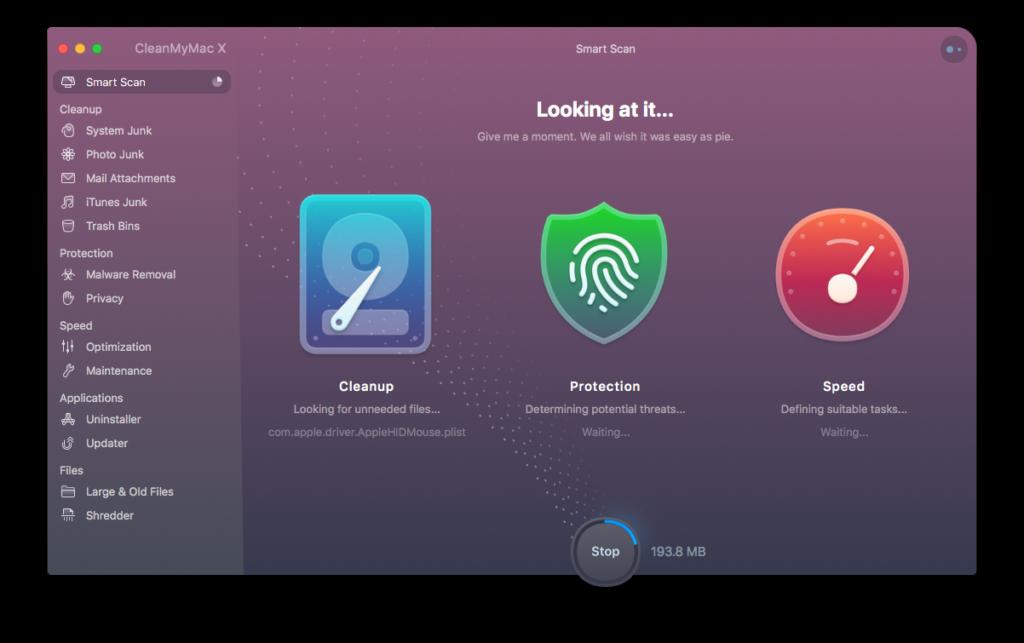 mac cleaner - Macpaw CleanMyMac