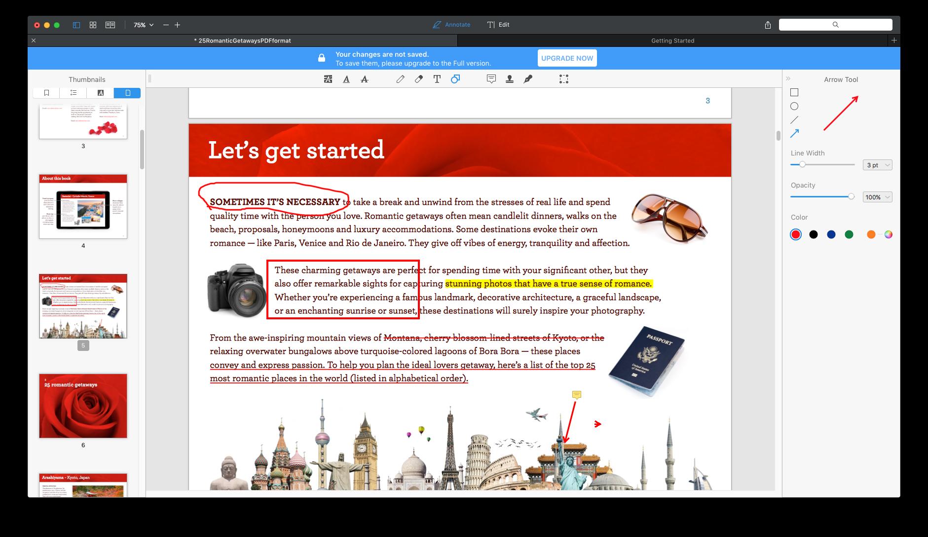 PDF expert annotate pdf scr