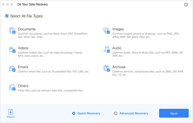 best data recovery software Mac - Do Your Data Recovery