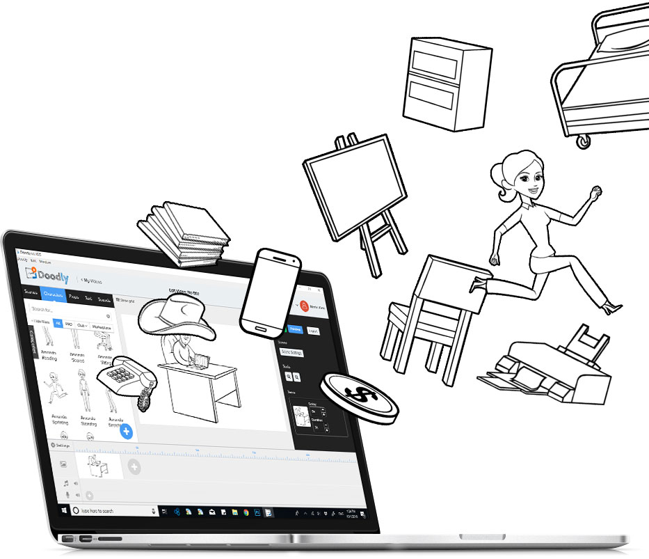 make explainer videos with doodly