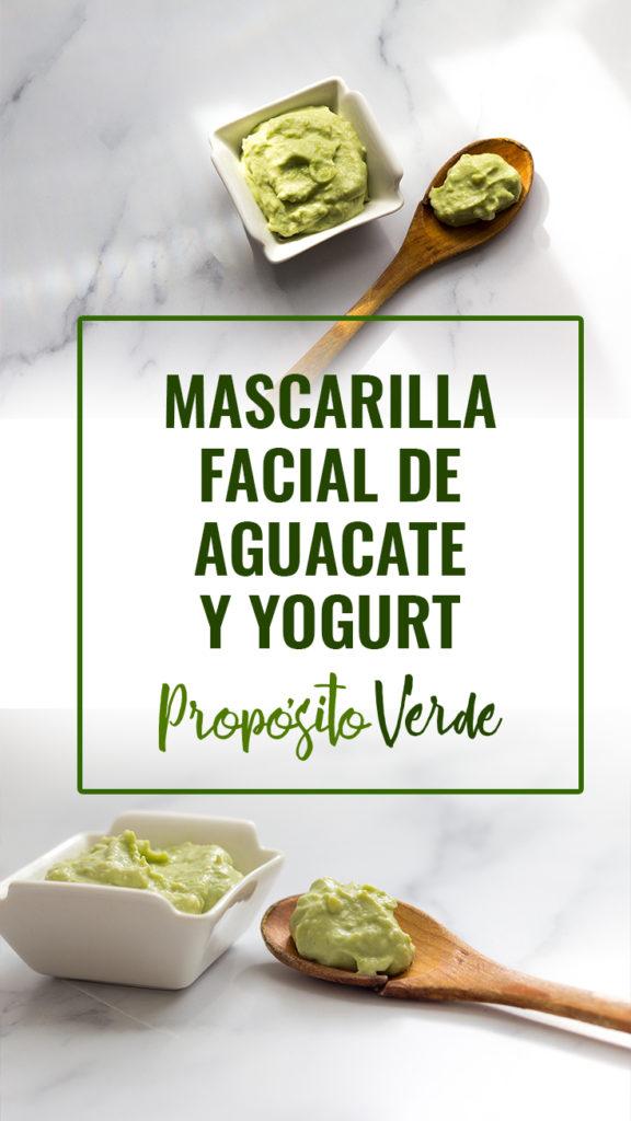 """DIY Mascarilla facial de aguacate y yogurt """"AvoYogurt Mask"""" Especial para hidratar y aclarar el cutis."""