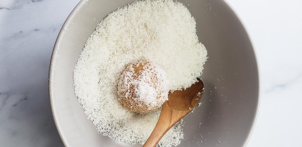 trufas en coco rallado
