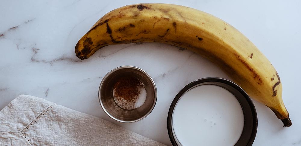 Plátanos en Crema de Coco