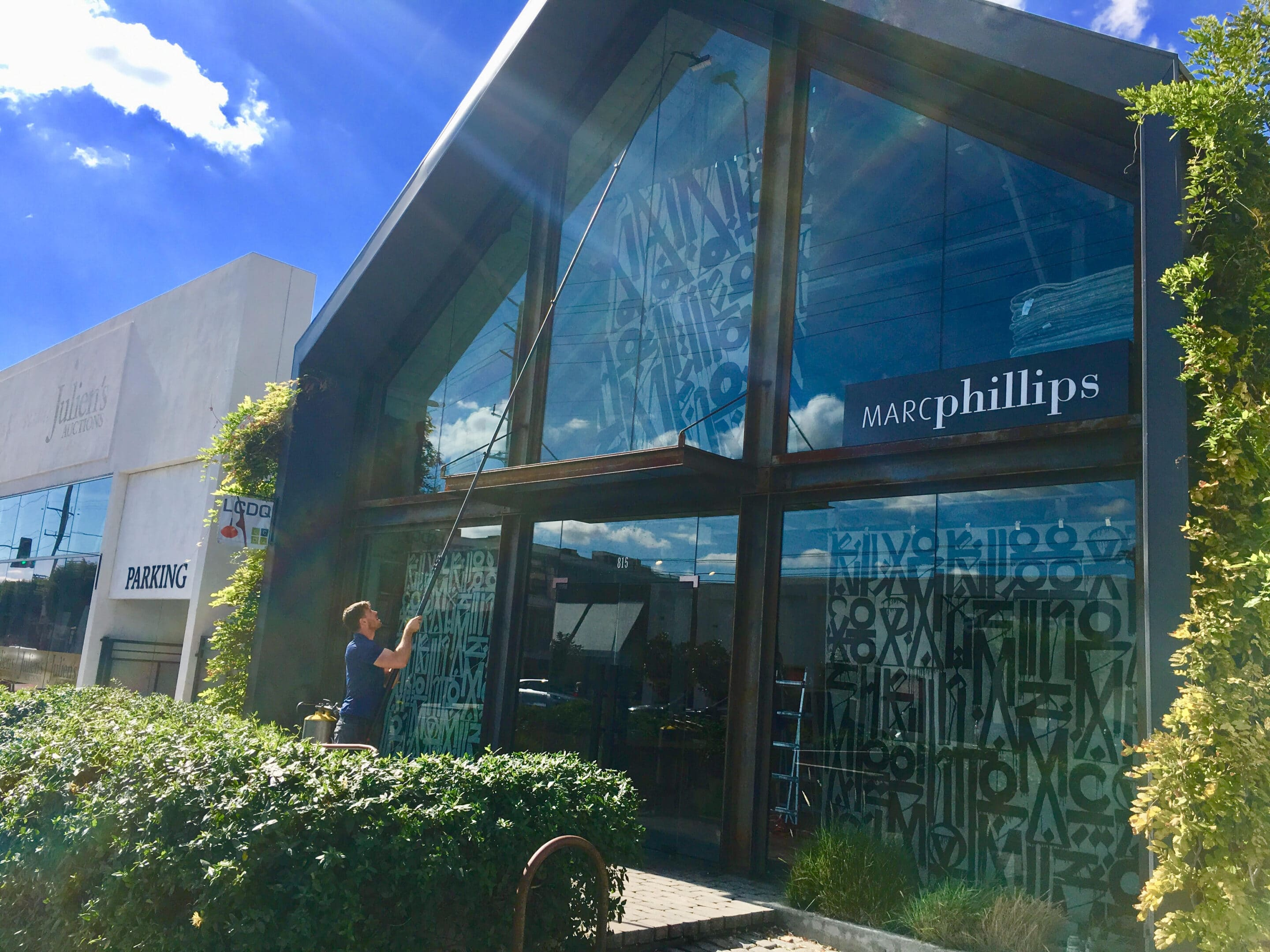 Attracting Customers With Clean Windows