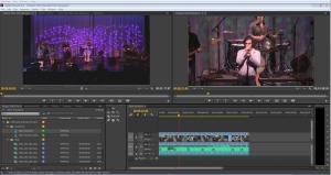 Adobe Premiere Pro Import Project From V-Station HD XML Sample (Neil Diamond tribute)