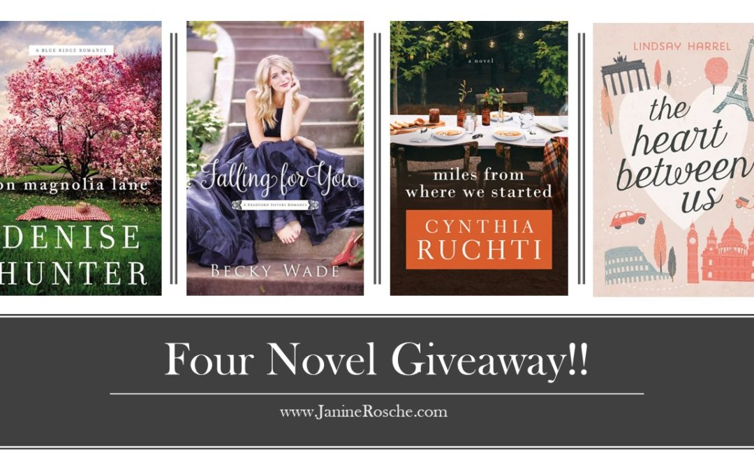 Four Book Giveaway