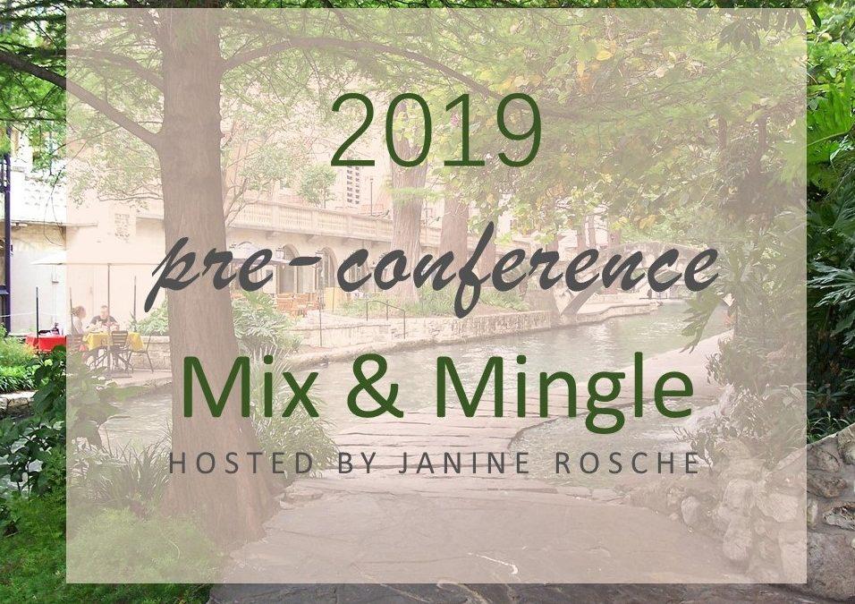 2019 ACFW Pre-Conference Mix & Mingle