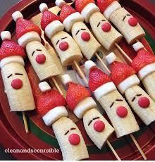Banana Strawberry Santa