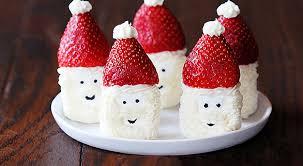 Marshmallow Strawberry Santa