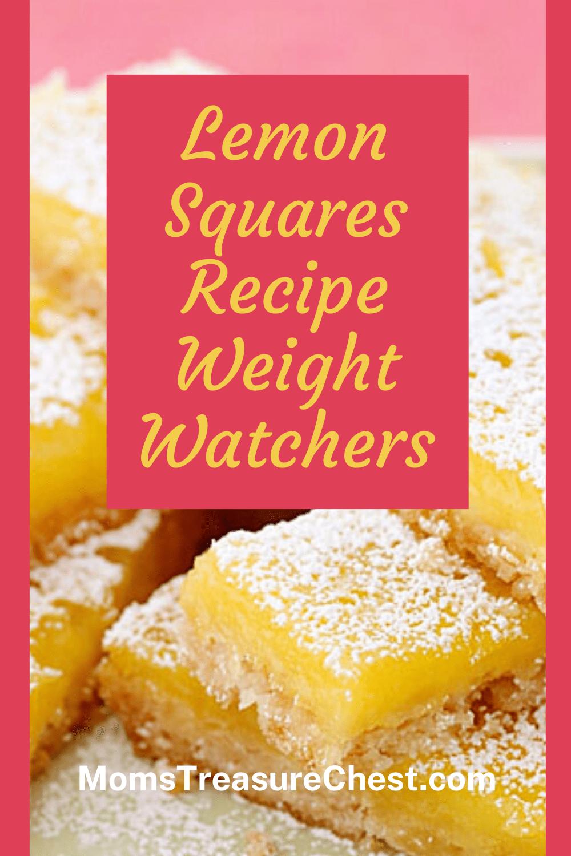 Weight watchers lemon Squares