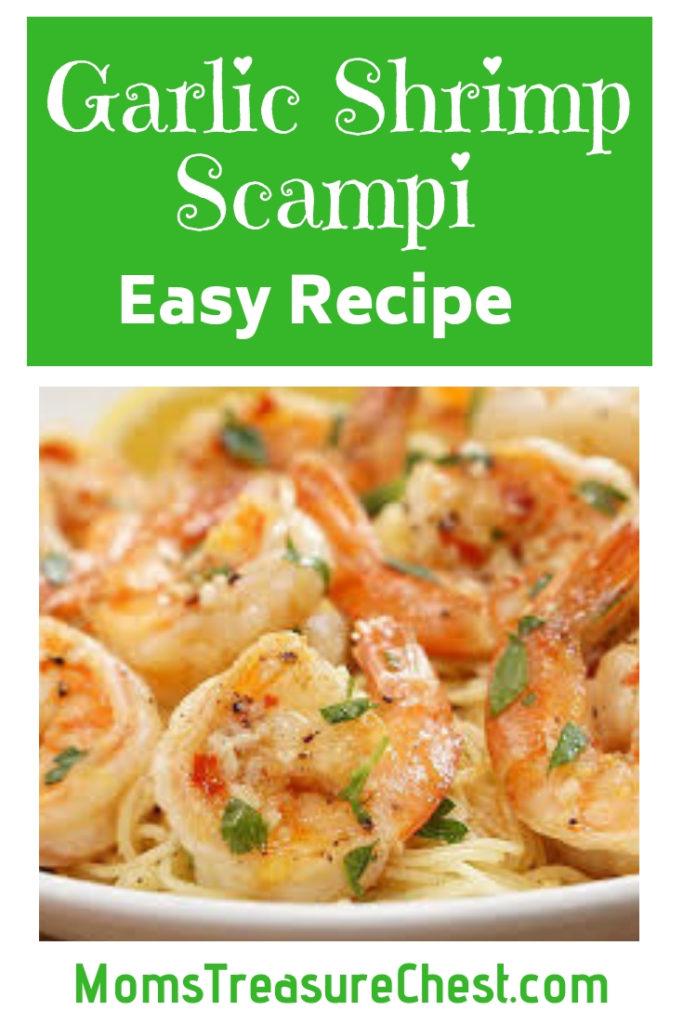 easy shrimp scampi recipe
