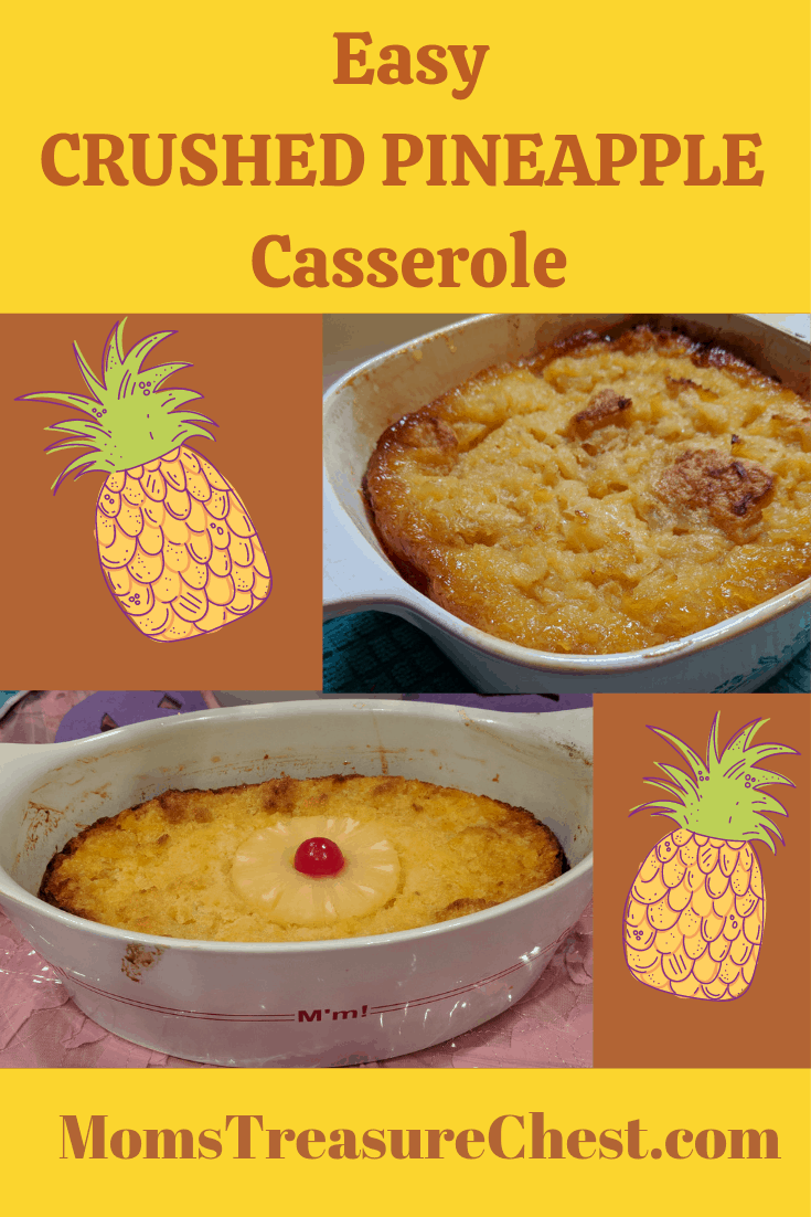 Crushed pineapple casserole