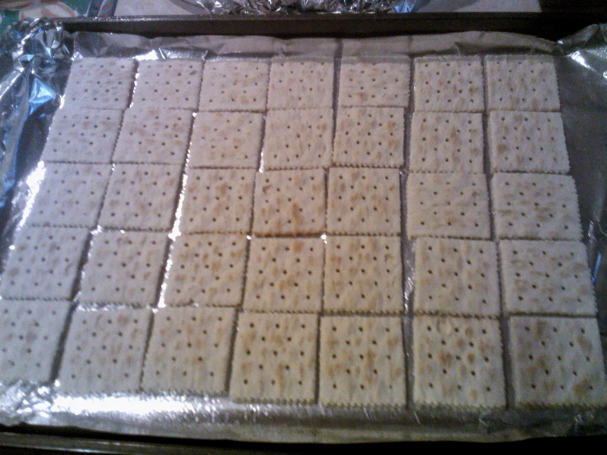 Saltine Cracker Candy Recipe