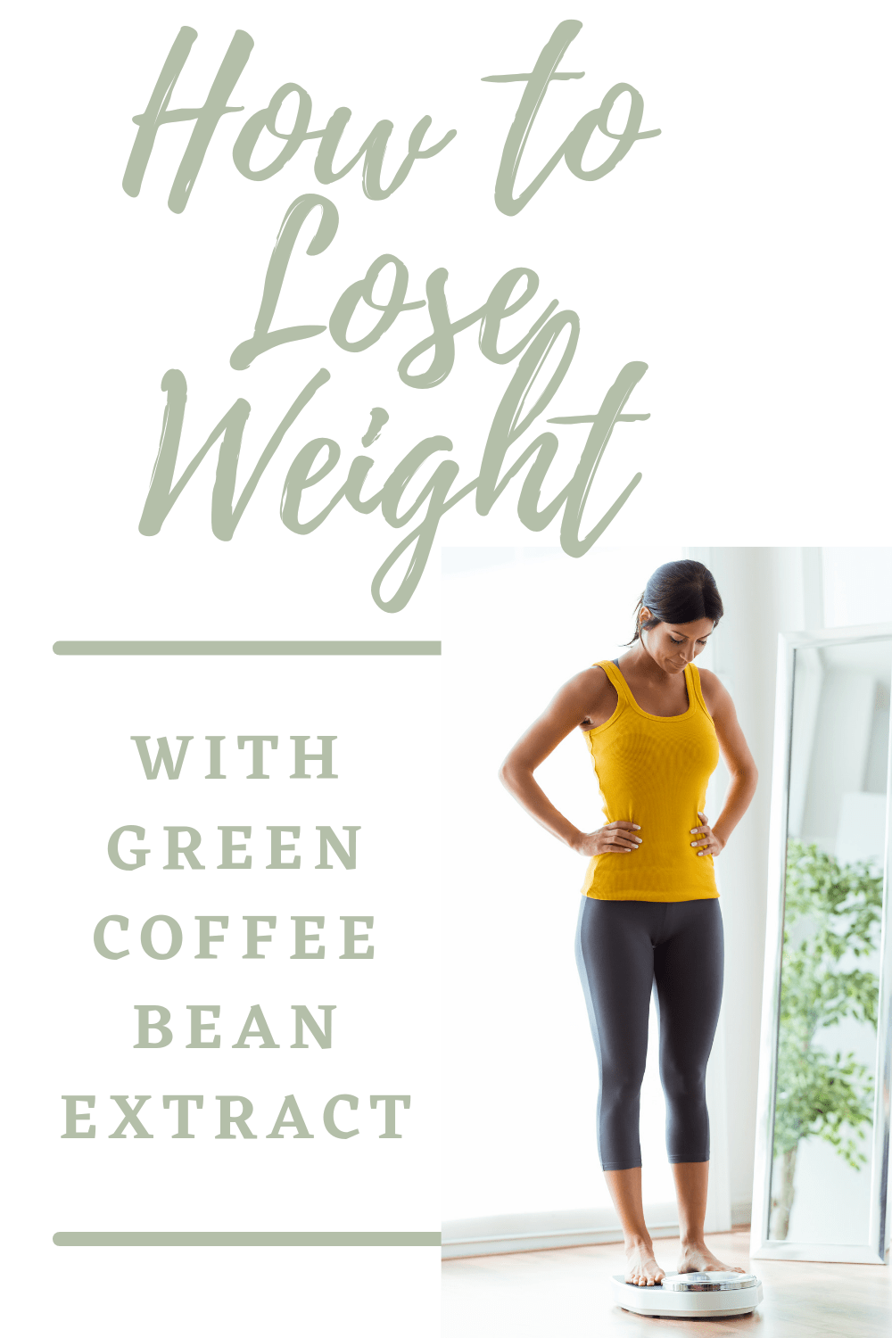 Lose weight with green coffee bean