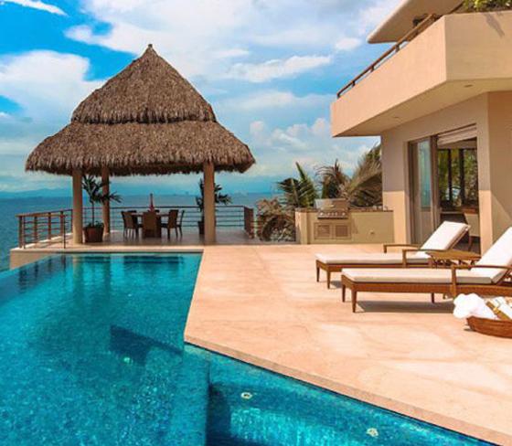 luxury Mexico villa kismet Puerto Vallata oceanfront Debra Dudley 20