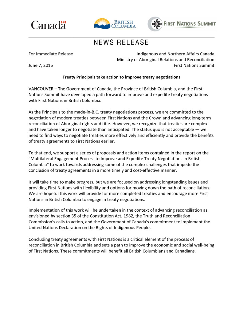 thumbnail of joint-statement-re-treaty-multilateral-report-final-june-7-2016