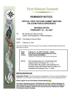 thumbnail of FEBRUARY 2021 VIRTUAL FNS MEETING – REMINDER NOTICE TO FIRST NATIONS