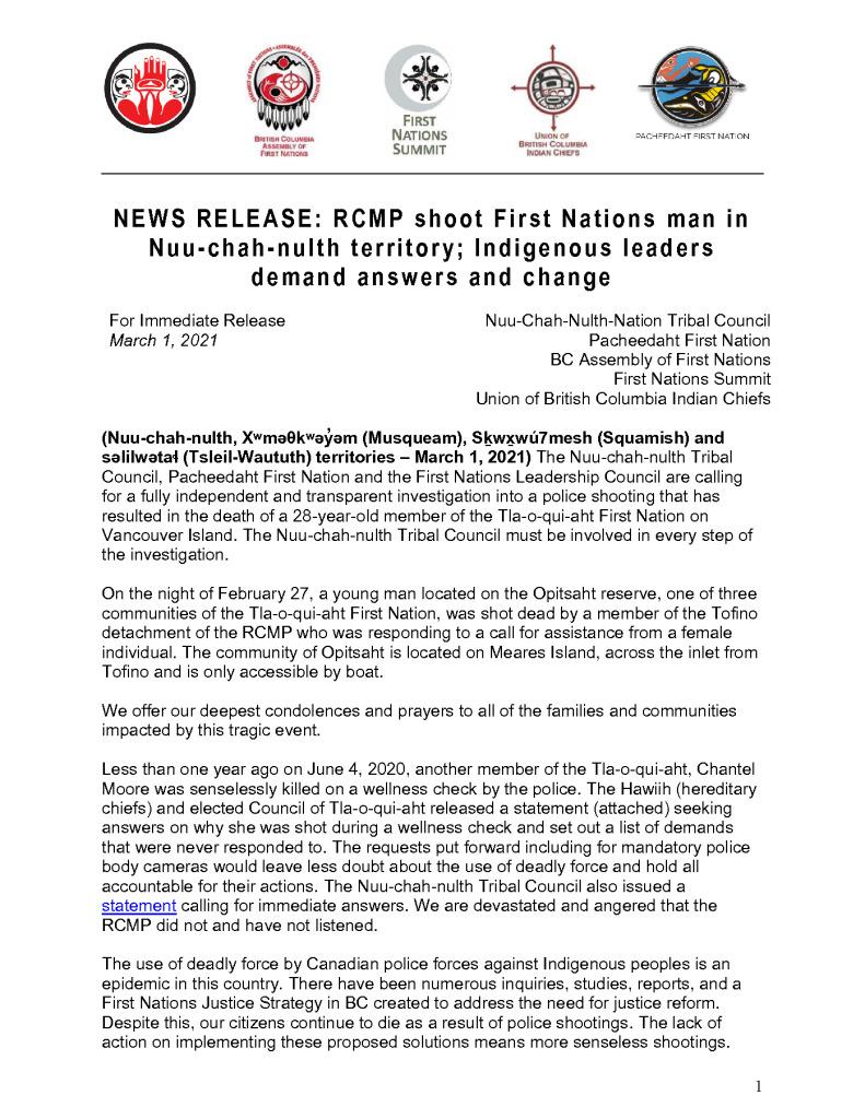 thumbnail of 2021March01_NTCPacheedahtandFNLC_StatementRCMPShooting